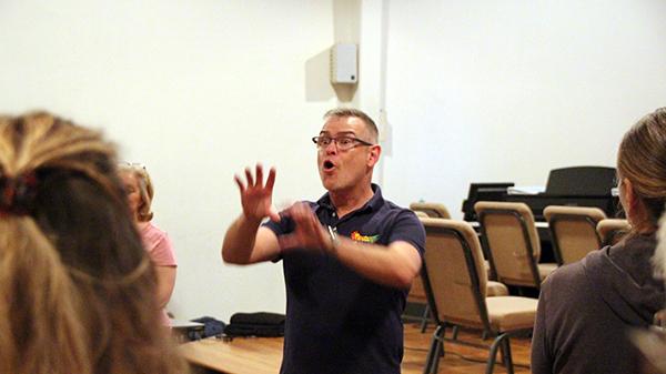 Paul Teaching